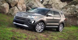 2016 Ford Explorer facelift begins production; 2.3L turbo optional