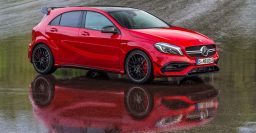 W176 Mercedes-AMG A45 now with 280kW/381hp turbo