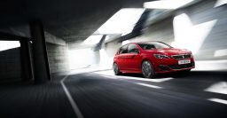T9 Peugeot 308 GTi: 270hp/200kW or 250hp/184kW 1.6L turbo