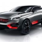 Peugeot Quartz concept photo gallery