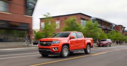 2016 Chevrolet Colorado Duramax Diesel can tow 7,700lb