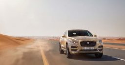 Jaguar F-Pace shown doing extreme weather testing
