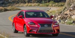 Lexus IS200t, IS300 AWD join 2016 range; IS250 deleted