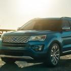 2016 Ford Explorer Platinum: New top-spec model