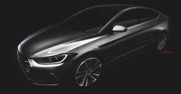 2016 Hyundai Elantra sketched out, reveal coming soon