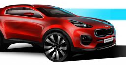2016 Kia Sportage sketched out ahead of Frankfurt debut