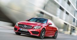C205 Mercedes-Benz C-Class coupe looks like a small S-Class