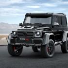 Brabus tuned Mercedes-Benz G500 4×4² photo gallery