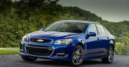 2016 Chevrolet SS adopts VFII Holden Commodore look