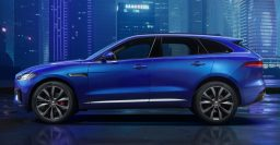 X761 Jaguar F-Pace side unveiled in production trim