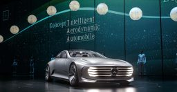 Mercedes-Benz Concept IAA grows 39cm to be more aero
