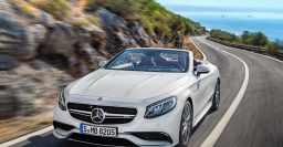 A217 Mercedes-Benz S-Class Cabrio is beautiful, on script
