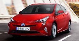 XW40 Toyota Prius is tough on the eye, Mirai-inspired