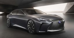 Lexus LF-FC previews next-gen LS: It will be very handsome