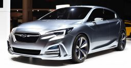 Subaru Impreza 5-Door Concept previews 2017 Impreza