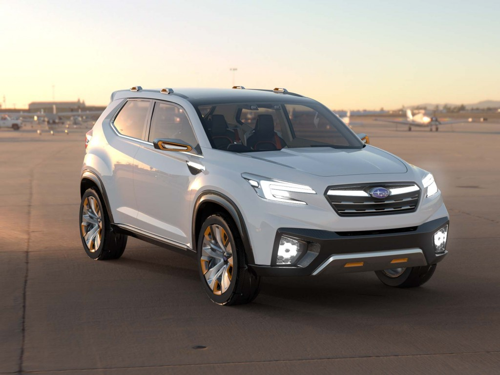 2019 Subaru Forester Previewed By Viziv Future Concept