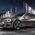 BMW Concept Compact Sedan previews FWD 1-Series/2-Series