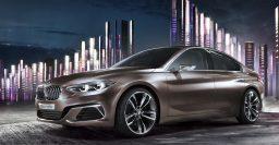 BMW Concept Compact Sedan previews FWD 1-Series/2-Series