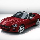 Fiat 124 Spider: ND Mazda MX-5 base, new style, 1.4L turbo
