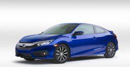 2016 Honda Civic coupe: Sportier design, longer wheelbase