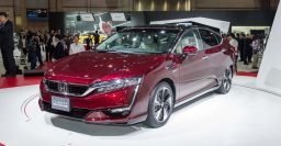 2017 Honda Clarity Fuel Cell: 366mi EPA range rating, best in ZEV class