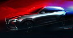Mazda CX-9 teased, will debut at the 2015 LA Auto Show