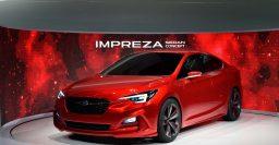 2015 Subaru Impreza Sedan Concept: Sexy as WRX Concept