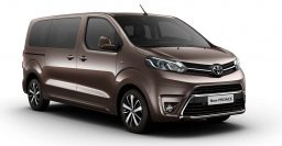 2016 Toyota Proace Verso will seat up to nine