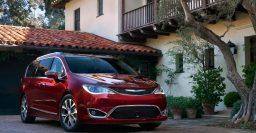 2017 Chrysler Pacifica, 2016 Dodge Grand Caravan: Fire stops production