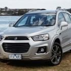 2016 CG Holden Captiva facelift: Updated styling, infotainment