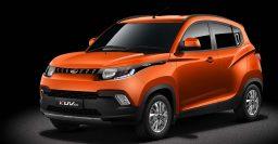 Mahindra KUV100: SUV debuts 3-cylinder diesel, gas motors
