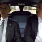 Corvette Stingray helps Obama and Seinfeld grab coffee (video)