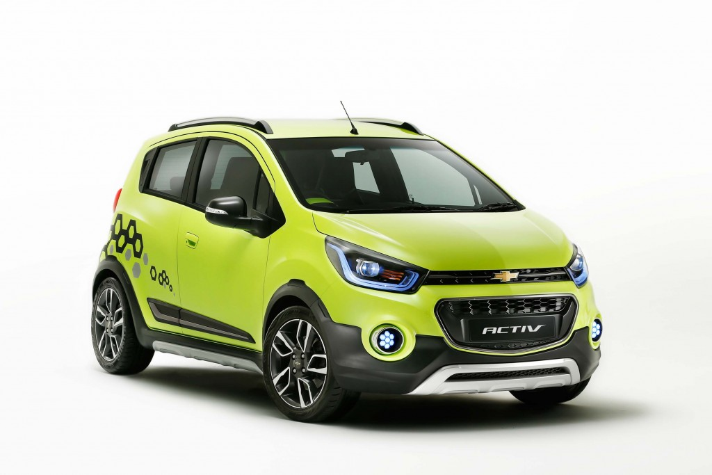2017 Chevrolet Spark Activ: Crossover hatch approved for ...