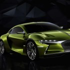 DS E-Tense EV concept: A big green French luxury machine