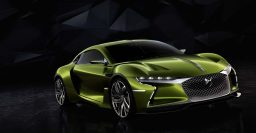DS E-Tense EV concept: A big green French luxury machine