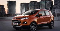 2018 Ford EcoSport: Facelifted mini-SUV to be revealed at LA Auto Show