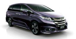 2016 Honda Odyssey Hybrid added to Japanese range