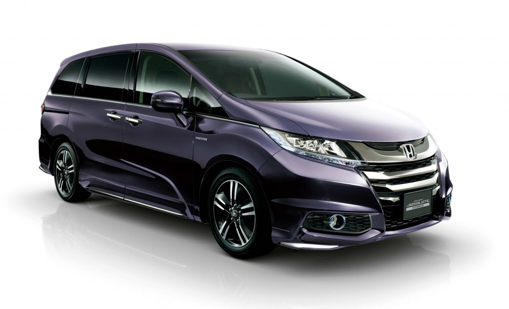 honda odyssey hybrid absolute rc1 rc2 2016 photos. Black Bedroom Furniture Sets. Home Design Ideas