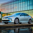 Kia Optima plug-in hybrid sedan (JF, USDM, 2017) photo gallery