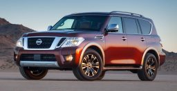 2017 Nissan Armada is a facelifted, rebadged Nissan Patrol for the US