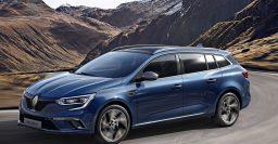 2016 Renault Megane IV estate: four wheel steering optional