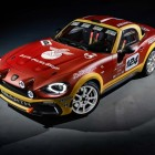 Abarth 124 Rally prototype (ND, 2016) photo gallery