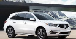 2017 Acura MDX facelift: New grille and Sport Hybrid drivetrain