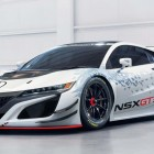 2017 Acura NSX GT3 race car goes RWD, dumps hybrid