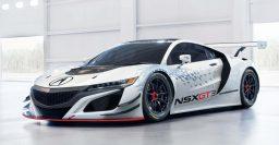 2017 Acura NSX GT3 race car goes RWD, dumps hybrid