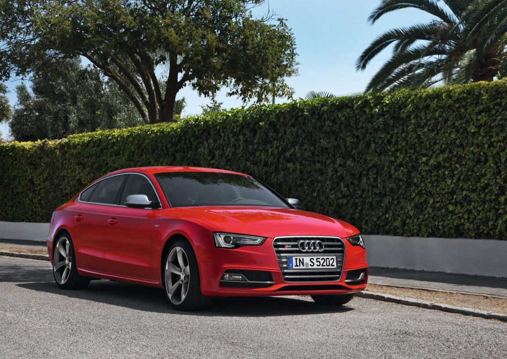 2018 audi a5 sportback to be sold in the usa between the axles. Black Bedroom Furniture Sets. Home Design Ideas