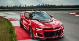2017 Chevrolet Camaro ZL1: 640hp 6.2-liter V8, 10-speed auto
