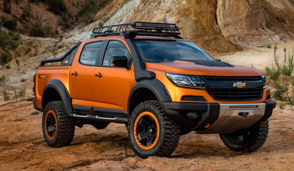 Chevrolet Colorado Xtreme concept (GMT 31XX, 2016) photo ...