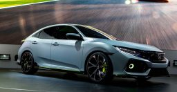 Honda Civic Hatchback Prototype previews UK made FC3 hatch