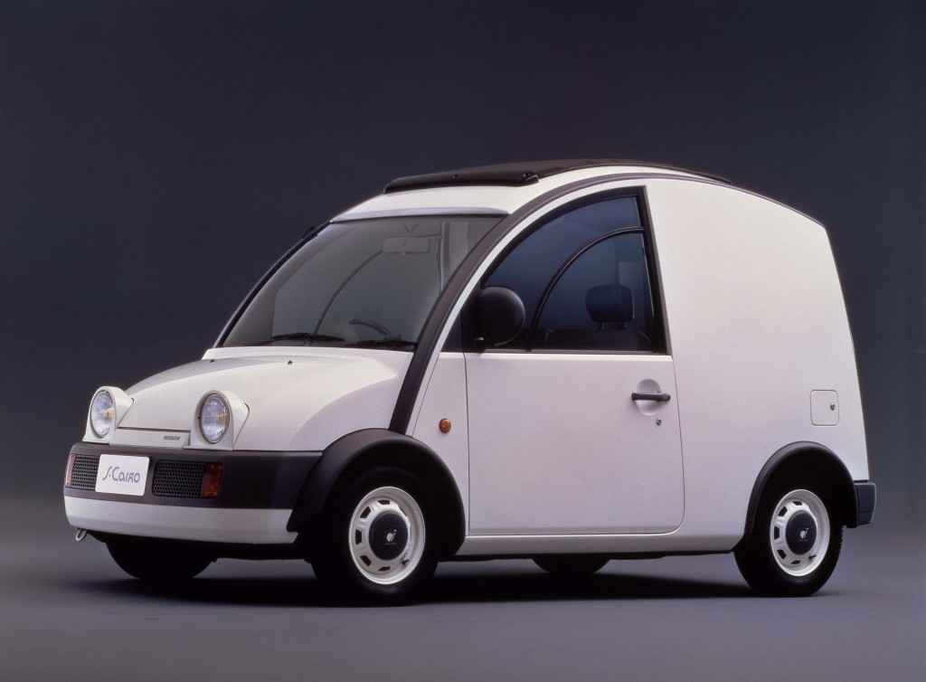 Nissan S-Cargo (G20, 1989) photo gallery | Between the Axles
